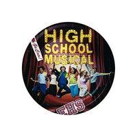 Rubie's Costume Co High School Musical Dessert Plates 8ct