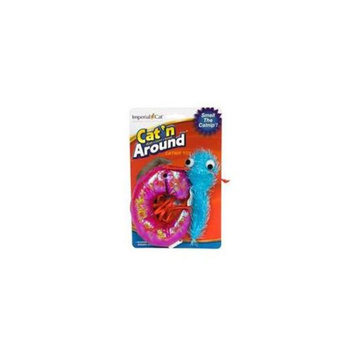 Imperial Cat 01157 Shrimp and Tadpole Toy Duo Cat n Around Toys - on Hang Card