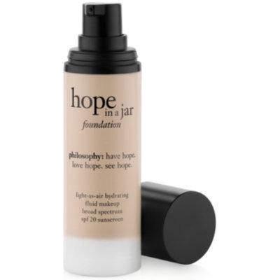 Philosophy philosophy hope in a jar foundation