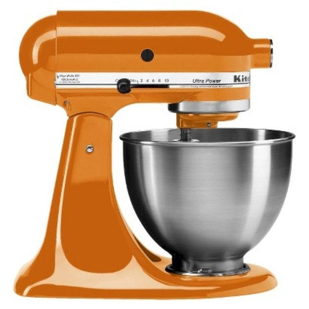 Kitchenaid 4 5 qt ultra power stand mixer tangerine reviews find the best stand mixers - Kitchenaid qt mixer review ...