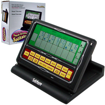 Trademark Poker Portable Video Solitaire Touch-Screen 2-in-1 Game