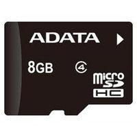 Adata Technology AUSDH8GCL4-RA1 Flash Memory Card - 8GB - Flash Memory - 2.7-3.6 V - Speed [read] 10-14 [mb/s