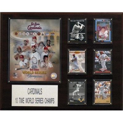 C and I Collectables 1620CARDS10TIME MLB St. Louis Cardinals 10 Time World Serie
