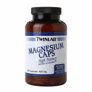 Twinlab Magnesium Caps 400mg, 240 ea
