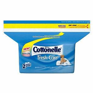 Cottonelle Flushable Moist Wipes Pop Up Refill