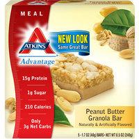 Atkins Advantage Peanut Butter Granola Bar