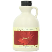 Highland Sugarworks 100% Grade B Maple Syrup, 32-Ounce Jug