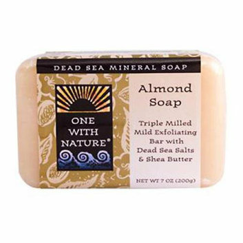 One With Nature Almond Soap Bar 7 oz
