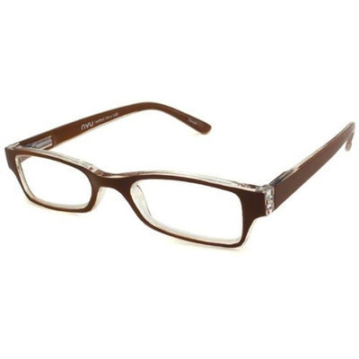 NVU Eyewear Reading Glasses - Bedford Brown & Clear / BEDFORD BROWN +2.75-BEDFORDBRN275