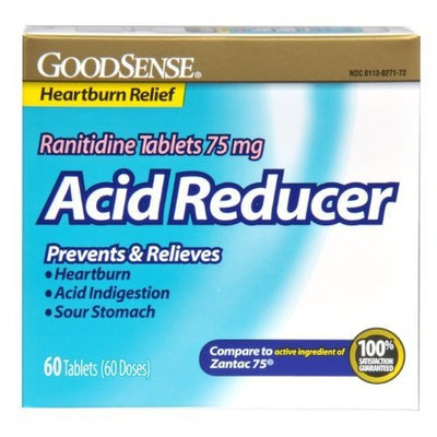 Good Sense GoodSense Acid Reducer Ranitidine Tablets , 75 mg, 30-count