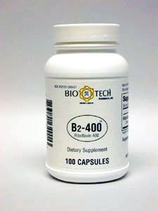 Vitamin B-2 400 mg 100 caps by Bio-Tech