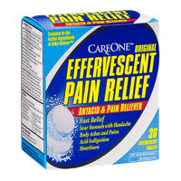 CareOne Effervescent Pain Relief Antacid & Pain Reliever - 36 CT