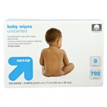 Up & Up Unscented Baby Wipes