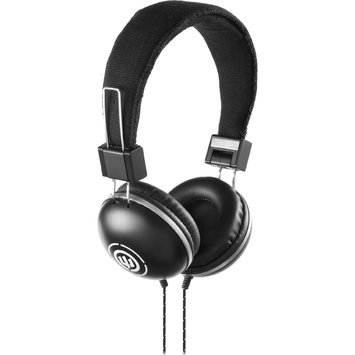 Empire Brands Wicked Audio Over Ear EVAC Black Headphones