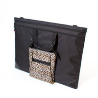 Martin Universal Black Folio Tango Combo with Leopard Tablet Bag