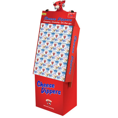 Laughing Cow Dippers Shipper