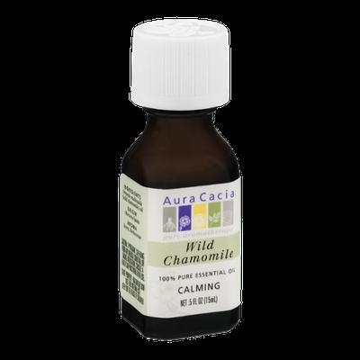 Aura Cacia Pure Aromatherapy 100% Pure Essential Oil Wild Chamomile