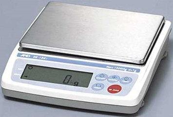 A & D WEIGHING EK-1200I Digital Balance, SS Platform,1200g Cap.