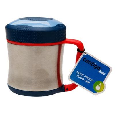 Contigo Scout Stainless Steel Vacuum-Insulated Food Jar, Cobalt, 10 oz