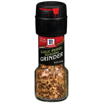 Mccormick Grinders Garilc Pepper Grinder, 1.23 OZ (Pack of 6)