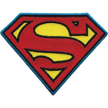 C & D Visionary Incorporated C & D Visionary DC Comics Super Hero Patches Superman Insignia 4