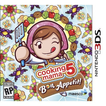 Majesco Cooking Mama 5: Bon Appetit! (Nintendo 3DS)