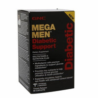 GNC Men's Mega Men Diabetic Support, Capsules, 90 ea