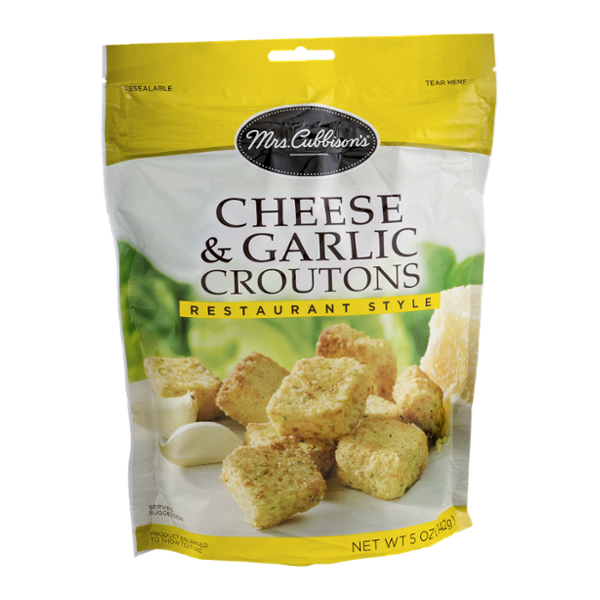 Mrs. Cubbison's Restaurant Style Croutons Cheese & Garlic