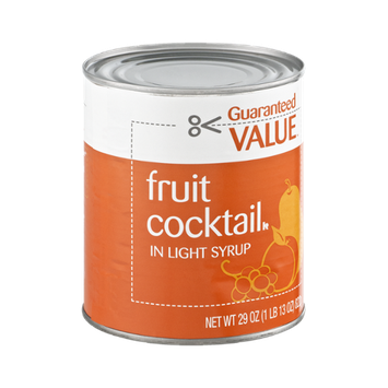 Guaranteed Value Fruit Cocktail in Light Syrup