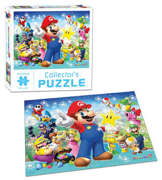 Usaopoly Super Mario Party 9 Collector's Puzzle