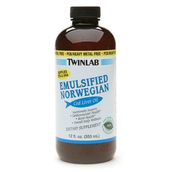Twinlab Emulsified Norwegian Cod Liver Oil