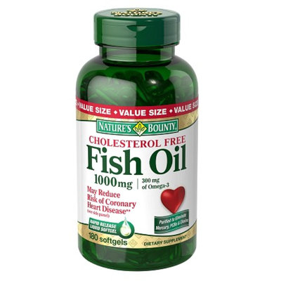 Nature's Bounty Cholesterol Free Fish Oil