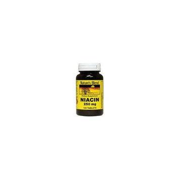 Nature's Blend Niacin 250 mg 250 mg 100 Tabs