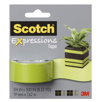 Scotch Expressions Tape 3/4 in x 300 in