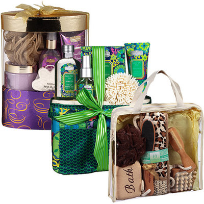 Women's Holiday Bath Gift Sets