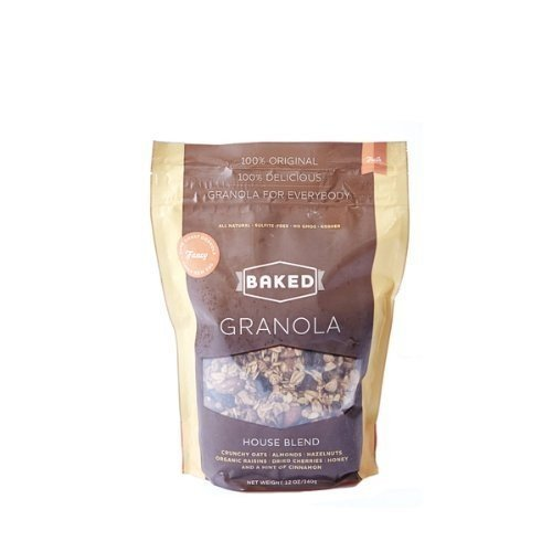 Baked Granola House Blend, 12-Ounce Pouches (Pack of 3)