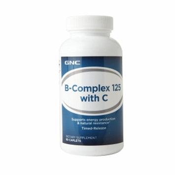 GNC Vitamin B-Complex 125 with C, Caplets, 60 ea