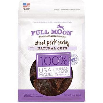 Full Moon Sliced Pork Jerky, 10.0 oz, Natural Cut