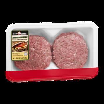 Reddi Gourmet Turkey Burger Seasoned With Spinach & Onions - 4 CT