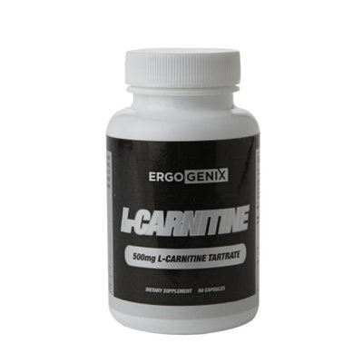 ErgoGenix L-Carnitine Tartrate 500mg, Capsules