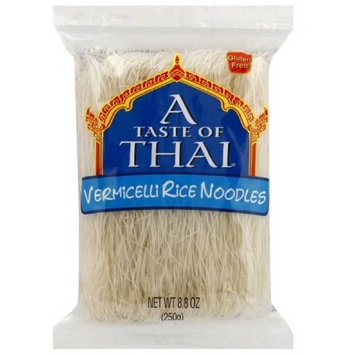A Taste of Thai Vermicelli Rice Noodles, 8.8 oz, (Pack of 20)