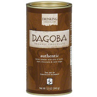 Dagoba Drinking Chocolate, 12 oz (Pack of 6)