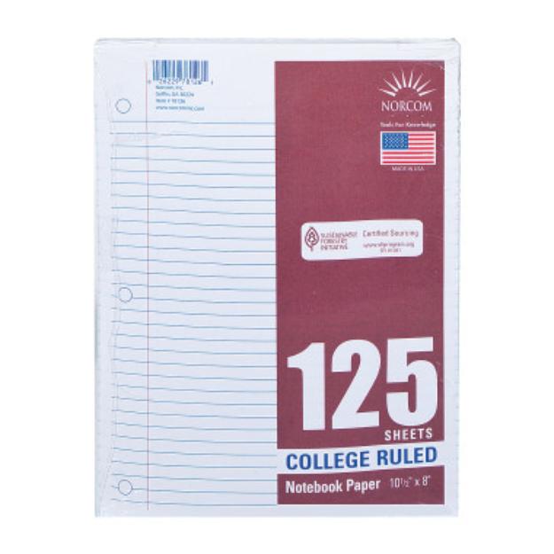 Filler Paper - College Ruled