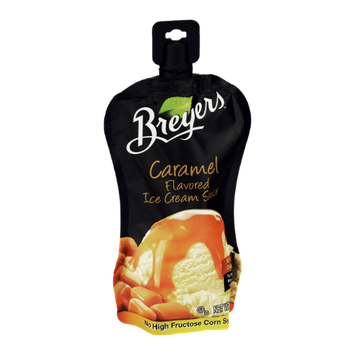 Breyers Flavored Ice Cream Sauce Caramel