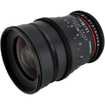 Rokinon 35mm T/1.5 Cine MF Wide Angle Lens (for Video DSLR Nikon Cameras)