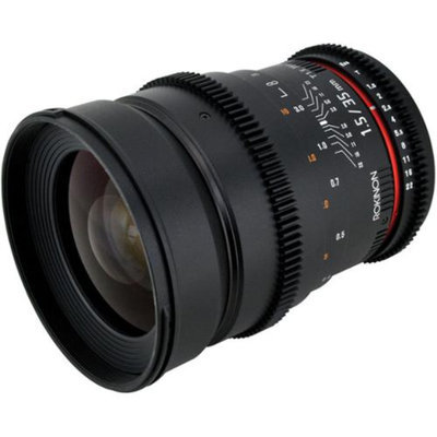 Rokinon 35mm T/1.5 Cine MF Wide Angle Lens (for Video DSLR Nikon Cameras)