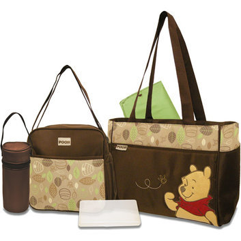 Disney - Pooh 5-in-1 Diaper Bag Set