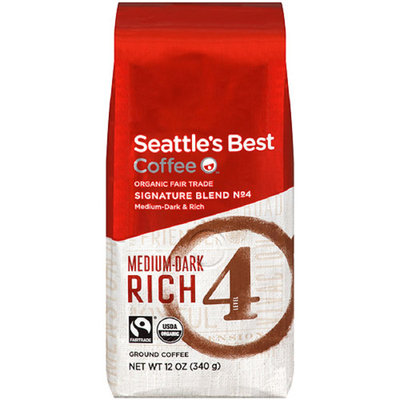 Seattle's Best Coffee Organic Fair Trade Ground Coffee. Level 4