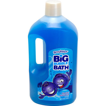 Scrubbles Blastin' Blueberry Big Bubble Bath, 64 fl oz