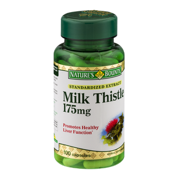 Nature's Bounty Milk Thistle Capsules - 100 CT